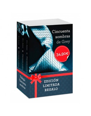 FIFTY SHADES TRILOGY BOX LIMITED EDITION GIFT