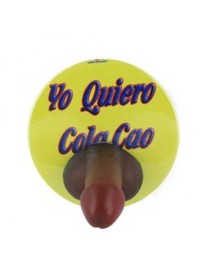 CHAPA YO QUIERO COLA CAO